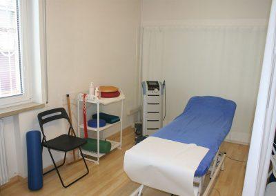 Sale riservate ai trattamenti di fisioterapia